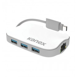 KANEX USB C to USB 3.0 HUB with Ethernet